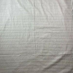 West Elm Organic Cotton Gray Twin Duvet Cover